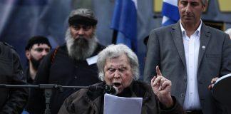 Μίκης Θεοδωράκης, Μακεδονικό, Χρυσή Αυγή, Εθνικισμός