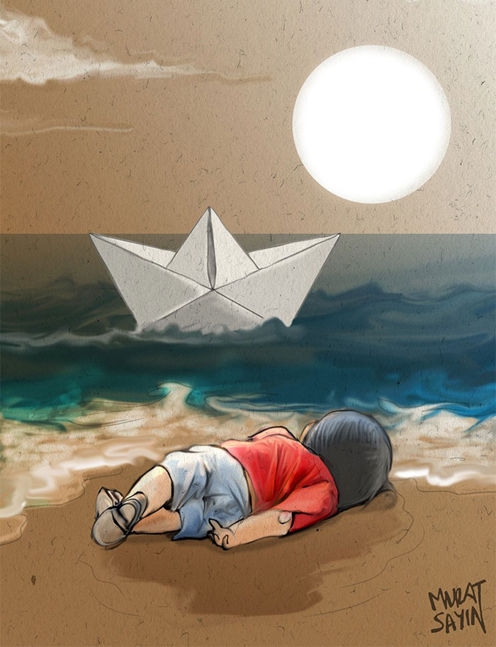Humanity Washed Ashore