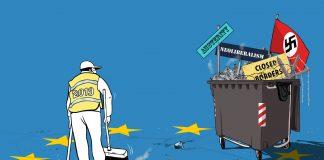 Κίτρινα γιλέκα. σκουπίδια, ΕΕ, Φασίστες