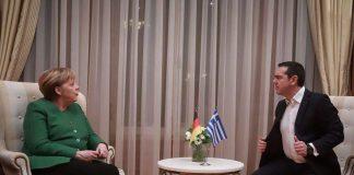 Τσίπρας, Μέρκελ, Merkel, Συνάντηση