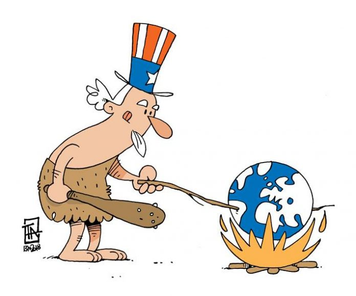 ΗΠΑ, Αμερική, Τραμπ, κόσμος