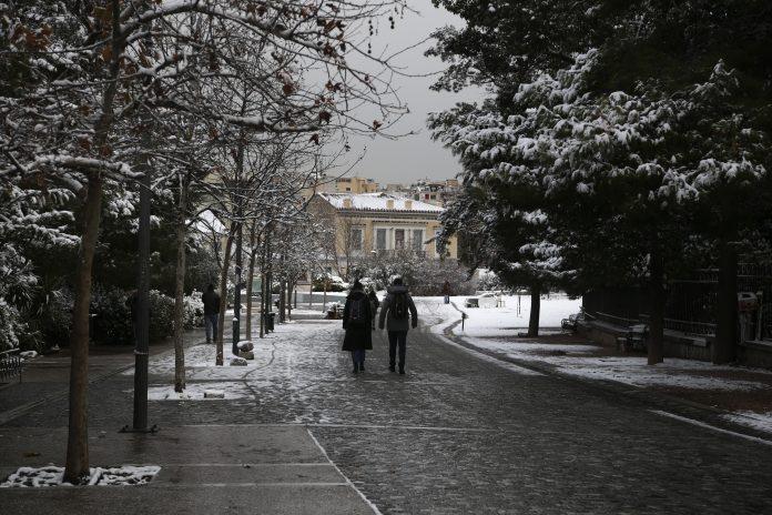 χιόνια, facebook, Πουλής
