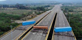 Βενεζουέλα, Μαδούρο, ανθρωπιστική βοήθεια, μπλόκο