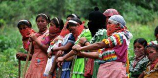 Ζαπατίστας, Μεξικό, γυναίκες, ιθαγενείς