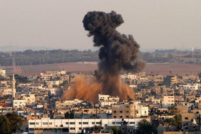 Παλαιστίνη, Πόλεμος, Ισραήλ, βόμβες